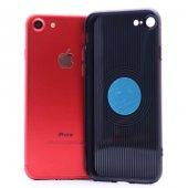 Apple iPhone 6 Plus Kılıf Zore Time Magnet Silikon-8