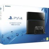 Sony Ps4 1tb Oyun Konsol Siyah