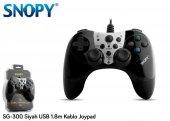 Snopy Sg 300 Siyah Usb 1.8m Kablo Joypad