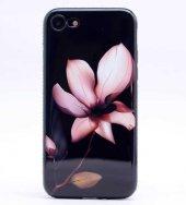 Apple iPhone 7 Kılıf Zore İnci Taşlı Silikon-4