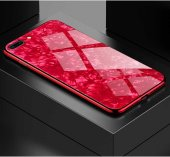 Apple iPhone 7 Plus Kılıf Zore Marbel Cam Silikon-2