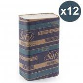 Sufy Z Katlamalı Havlu Kağıt 125li X 12 Adet (Koli)
