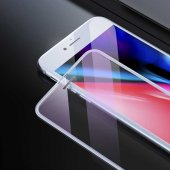 Apple iPhone 8 Baseus Full-Screen Curved Anti-Blue Light Tempered Glass Protector EKRAN KORUYUCU CAM-5