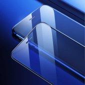 Apple iPhone 8 Baseus Full-Screen Curved Anti-Blue Light Tempered Glass Protector EKRAN KORUYUCU CAM-6