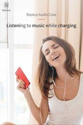 Apple iPhone 8 Kılıf Baseus Audio Case-12