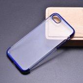 Apple iPhone 8 Kılıf Zore Tek Sıra Taşlı Silikon-7