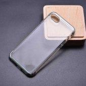 Apple iPhone 8 Kılıf Zore Tek Sıra Taşlı Silikon-9