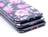 Apple iPhone 8 Plus Kılıf Zore İnci Taşlı Silikon-2