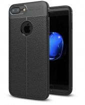 Apple iPhone 8 Plus Kılıf Zore Niss Silikon
