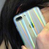 Apple iPhone 8 Plus Kılıf Zore Rainbow Kapak-3