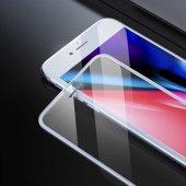 Apple iPhone 8 Zore Anti-Dust Glass Tempered Ekran Koruyucu-4