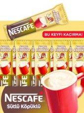 Nescafe 3 Ü 1 Arada Sütlü Köpüklü 48 Adet