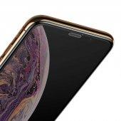 Apple iPhone XS 5.8 Baseus Full-Screen Curved Tempered Glass Screen Protector EKRAN KORUYUCU CAM-3