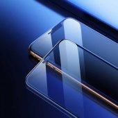 Apple iPhone XS 5.8 Baseus Full-Screen Curved Tempered Glass Screen Protector EKRAN KORUYUCU CAM-4