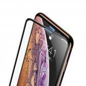 Apple iPhone XS 5.8 Baseus Full-Screen Curved Tempered Glass Screen Protector EKRAN KORUYUCU CAM-8
