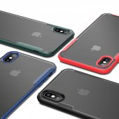 Apple iPhone XS Max 6.5 Kılıf Zore Volks Silikon-3