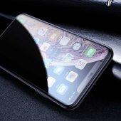 Apple iPhone XS Max 6.5 Zore Anti-Dust Privacy Tempered Ekran Koruyucu-3