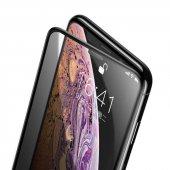 Apple iPhone XS Max 6.5 Zore Anti-Dust Privacy Tempered Ekran Koruyucu-4
