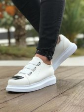 Chekich Ch251 Süet Bt Erkek Ayakkabı Beyaz