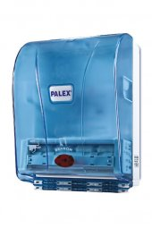 Palex Otomatik Havlu Dispenseri Şeffaf Mavi
