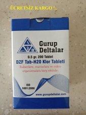 Klor Dezenfektan Tableti 0,5 Gr 200 Tablet Kargo Dahil