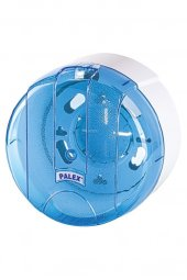 Palex Pratik Tuvalet Kağıdı Dispenseri Şeffaf Mavi