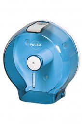 Palex Jumbo Tuvalet Kağıdı Dispenseri Şeffaf Mavi