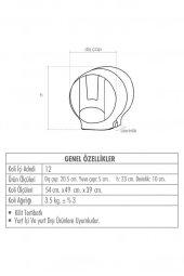 Palex Standart Jumbo Tuvalet Kağıdı Dispenseri Şeffaf Füme-2