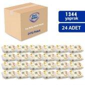 Evy Baby Soft Yaprak Islak Mendil 24lü Paket (24x56 1344yaprak)