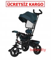 Sunny Baby T306 Hero 3 Tekerlekli İtmeli Bisiklet Yesil