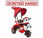 Babyhope 127 Panda İtmeli Bisiklet Kırmızı