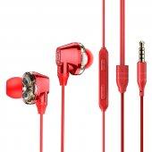 Baseus Encok H10 Dual Dynamic Wired Headset KULAKLIK UNİVERSAL KULAKLIK SAMSUNG HUAWEİ XİAOMİ OPPO-10