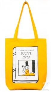 Can Dükkan Bez Çanta (Sarı Gabardin) Laforizma Serisi