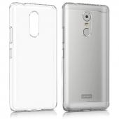 Lenovo K6 Note Kılıf Zore Süper Silikon Kapak + Cam Ekran Koruyucu Hediye