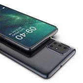 Galaxy A51 Kılıf Zore Süper Silikon Kapak + Cam Ekran Koruyucu Hediye-6