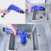 Air Blaster Basınçlı Lavabo Tuvalet Gider Açıcı Pompa