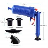 Air Blaster Basınçlı Lavabo Tuvalet Gider Açıcı Pompa-2