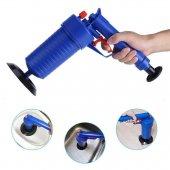 Air Blaster Basınçlı Lavabo Tuvalet Gider Açıcı Pompa-4