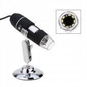 500X 8 LED Dijital, Endoskop Kamera Mikroskop-3