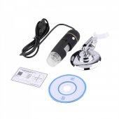 500X 8 LED Dijital, Endoskop Kamera Mikroskop-4