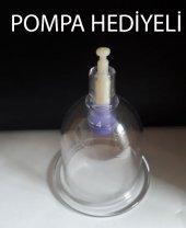 Hacamat Kupası 5cm 50 Adet 6cm 50 Adet Paket Pompa Hediyeli