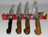 Lazoğlu Sürmene Tarihi El Dövme Çelik Bıçak 4 lü Set