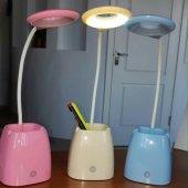 Masa Lambası Şarjlı Kalemlik Ve Telefon Standı