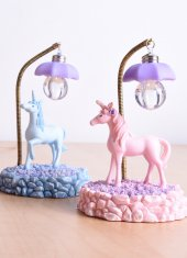 Unicorn Masa Lambası MAVİ