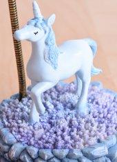 Unicorn Masa Lambası MAVİ-2