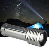 Watton WT-094 Küçük Güçlü Zoomlu EL Feneri-2