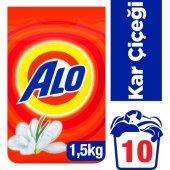 Alo 1,5 Kg Toz Çamaşır Deterjanı Kar Çiçeği
