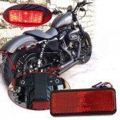Motosiklet Kedi Gözü (Reflektör), Ledli, Kırmızı Üniversal (Adet)
