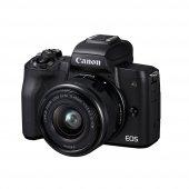 Canon EOS M50 + 15-45mm Lens Aynasız Fotoğraf Makinesi