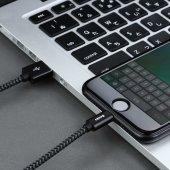 Benks M07 MFI Lightning Cable 1.2m İPHONE HIZLI ŞARJ DATA KABLOSU-3